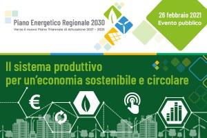 Economia sostenibile e circolare: incontro sulla transizione ecologica e digitale del sistema produttivo regionale