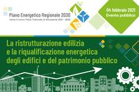 Edilizia e patrimonio pubblico: incontro sulla ristrutturazione e qualificazione energetica